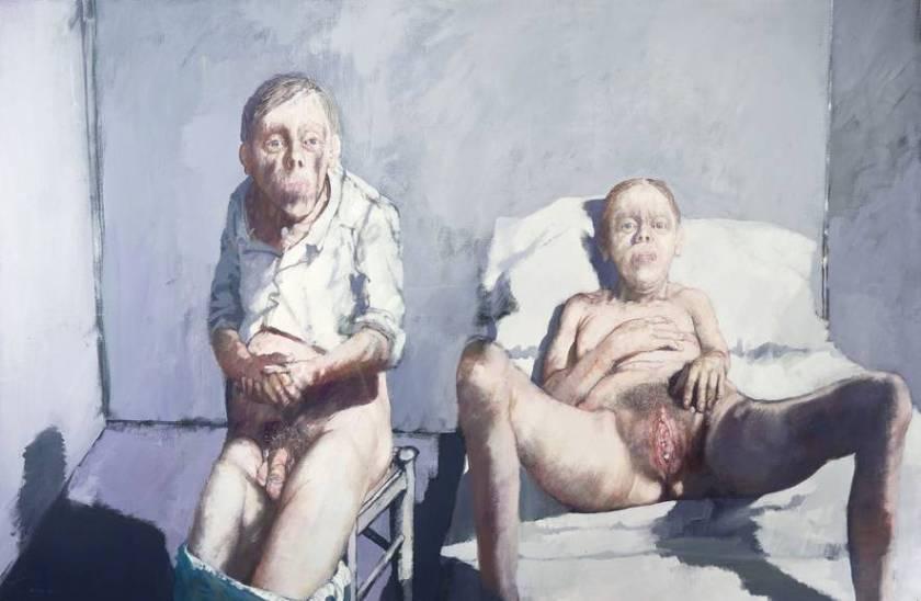 Peinture de Jean Rustin
